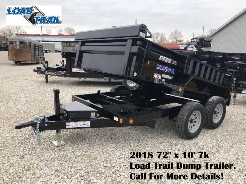 "2018 72"" x 10' 7k Load Trail Dump Trailer. 59426"