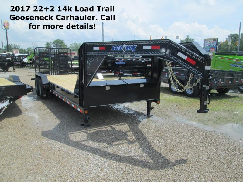 2017 22+2 14k Load Trail Gooseneck Carhauler. 38382