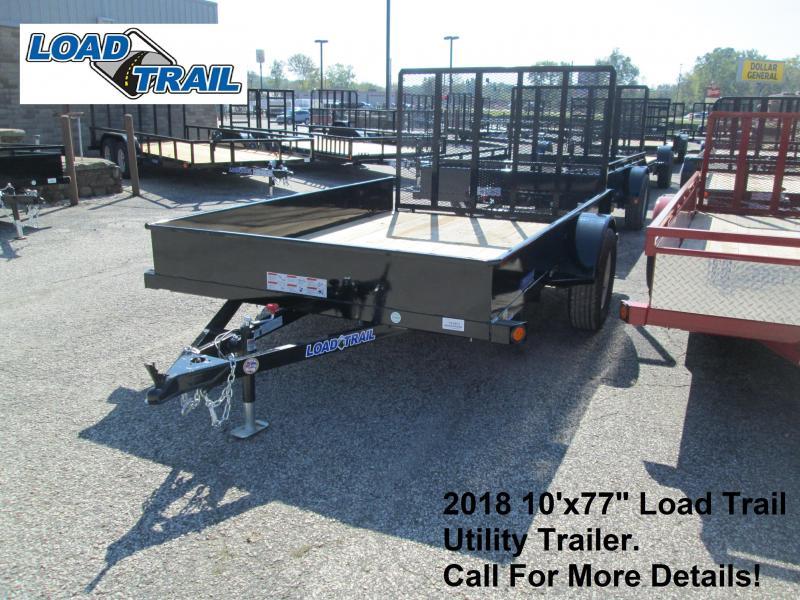 "2018 10'x77"" Load Trail Utility Trailer. 49469"