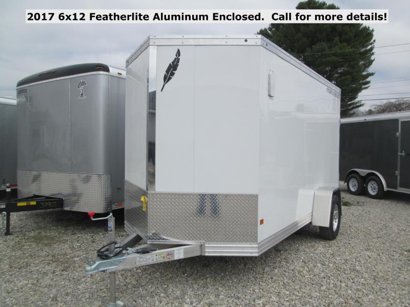2017 6x12 Featherlite Aluminum Enclosed. 144909