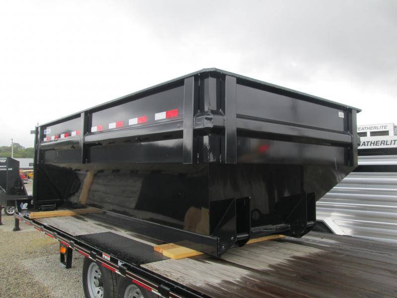2018 Load Trail 83x14 Drop-N-Go Roll off Dump Box. 44687