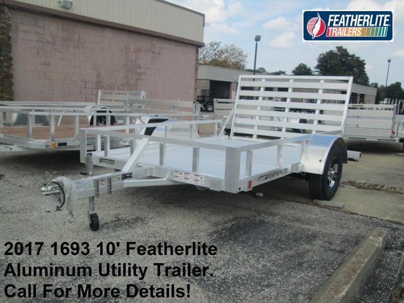 2017 1693 10' Featherlite Aluminum Utility. 146319