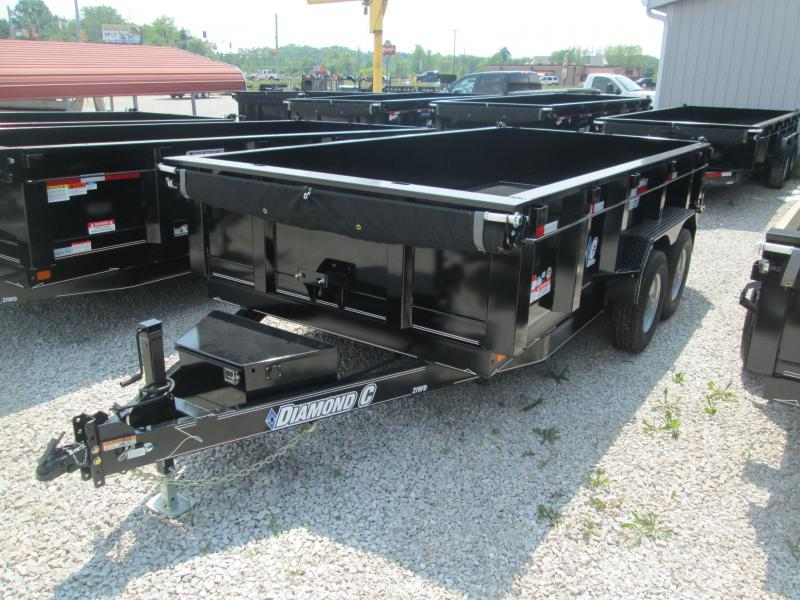 2017 14' Diamond C 14900 GVWR Dump Trailer. 90265