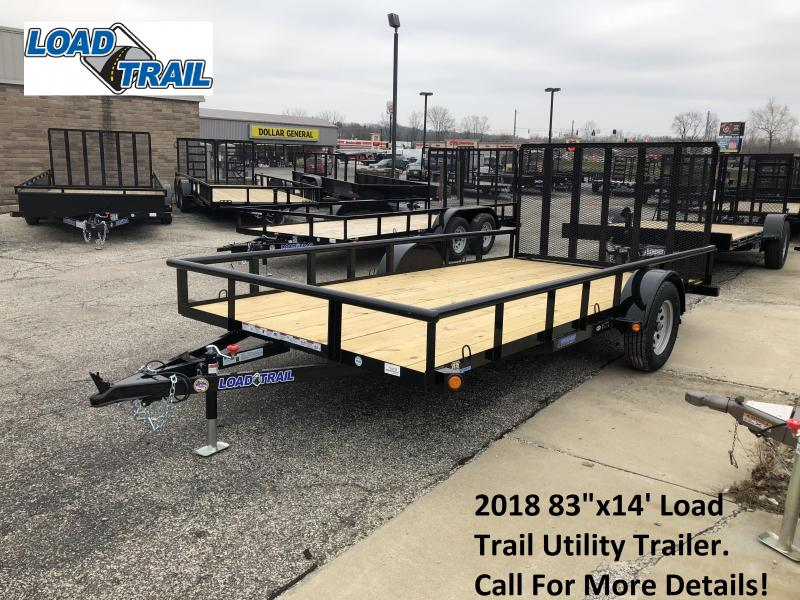 "2018 83"" x 14' Load Trail Utility Trailer. 54298"