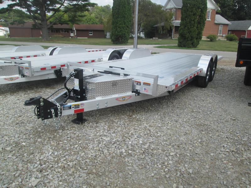 2017 H and H Trailer SpeedLoader Low-Pro Tilt Equipment Trailer