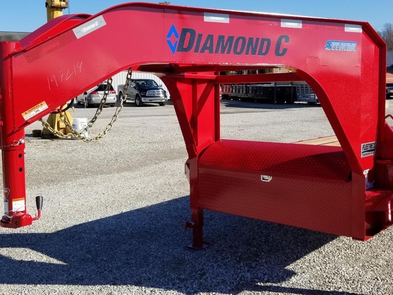 2018 20+5 15.5k GVWR Diamond C Equipment Trailer. 97214