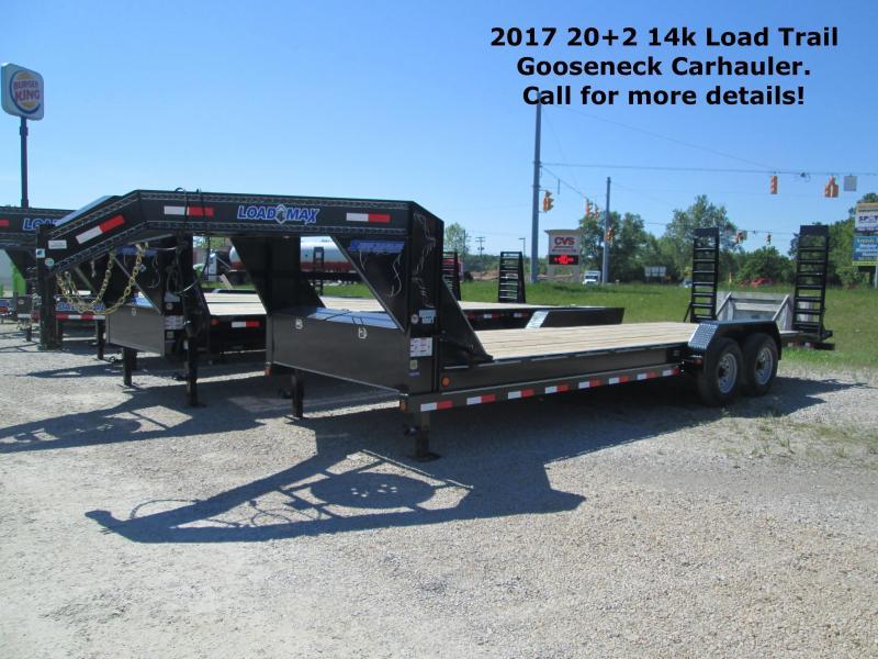 2017 22+2 14k Load Trail Gooseneck Carhauler. 31781