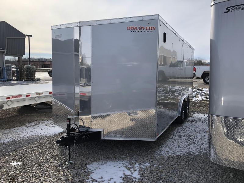 2019 8.5x18 10K Discovery Enclosed Trailer. 1932