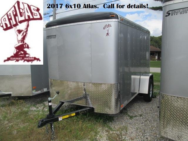 2017 6x10 Atlas Enclosed with ramp. 36767