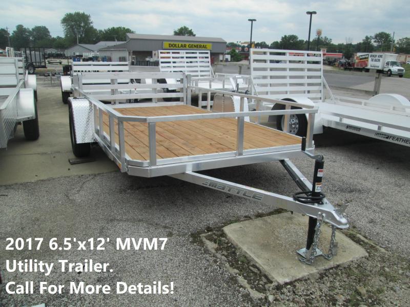 2017 6.5'x12' MVM7 Utility Trailer. 00561