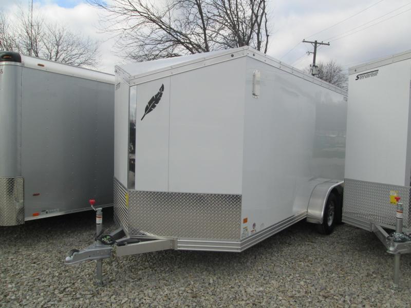 2018 7x16 7k Featherlite Aluminum Enclosed. 147707