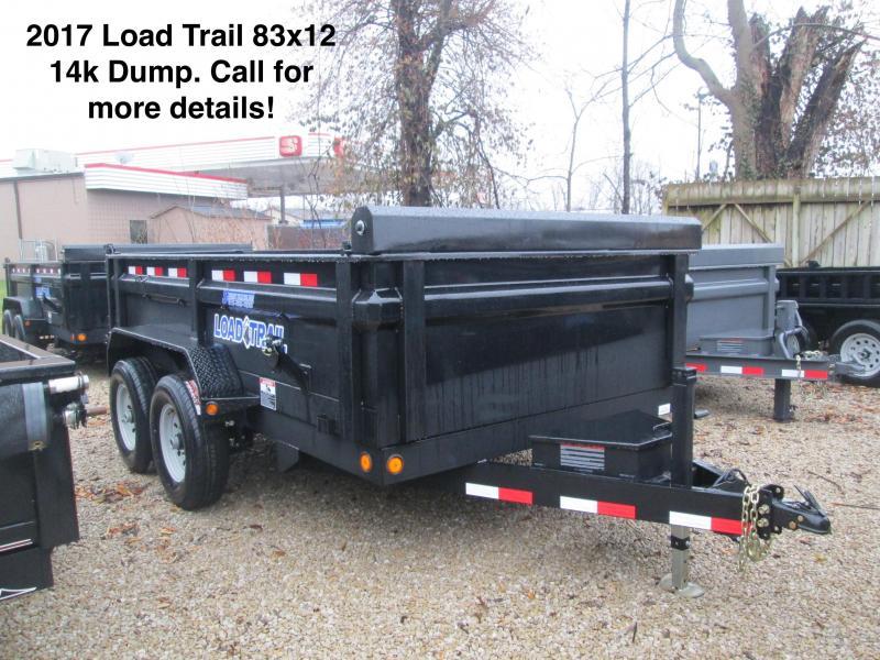 2017 83x12 14k Load Trail Dump.  27304