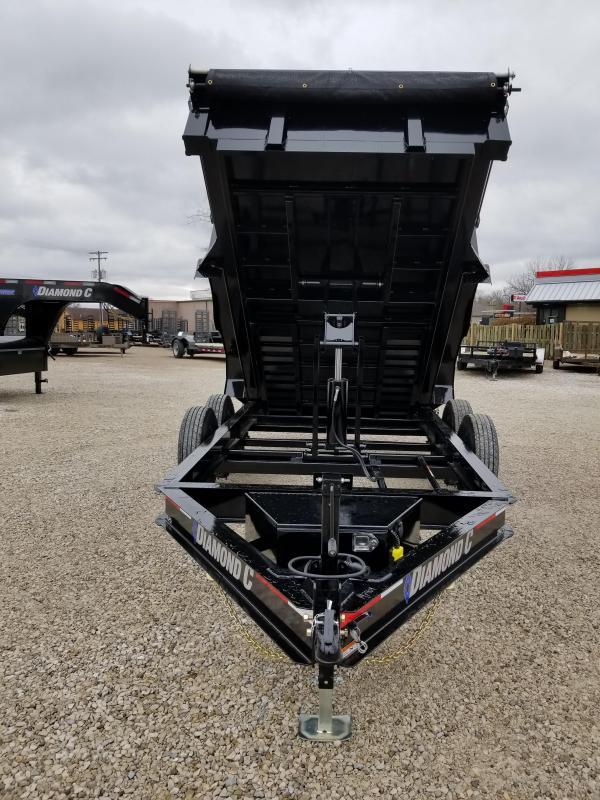 2018 Diamond C 12' 14900 lb GVWR Dump trailer. 97909