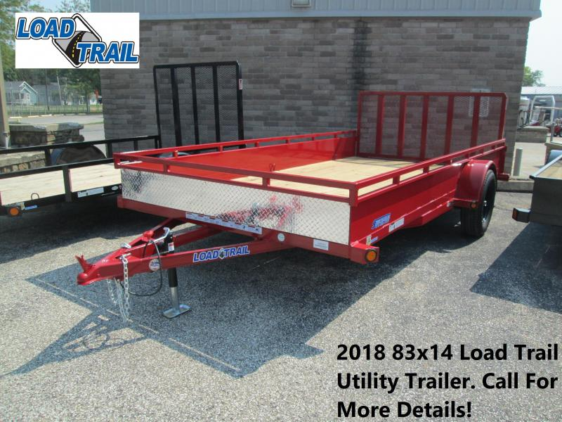 2018 83x14 Load Trail Utility Trailer. 46565
