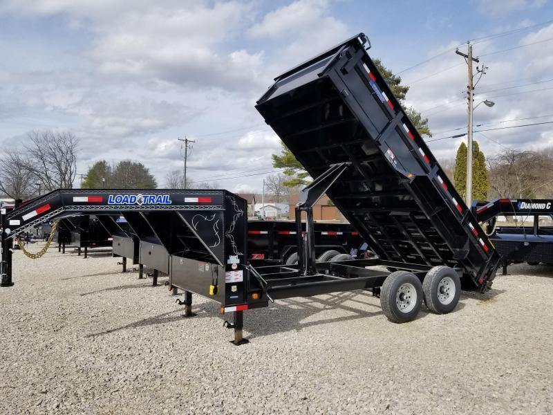 "2018 83"" x 16' 14k Load Trail GN Dump Trailer. 56452"
