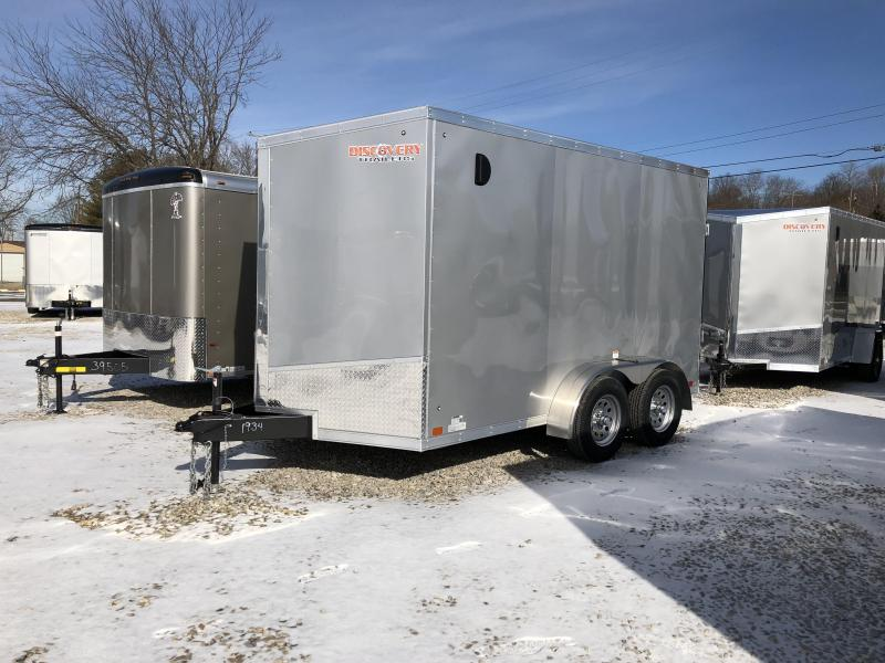 2019 7x12 7k Discovery Enclosed Trailer. 1934