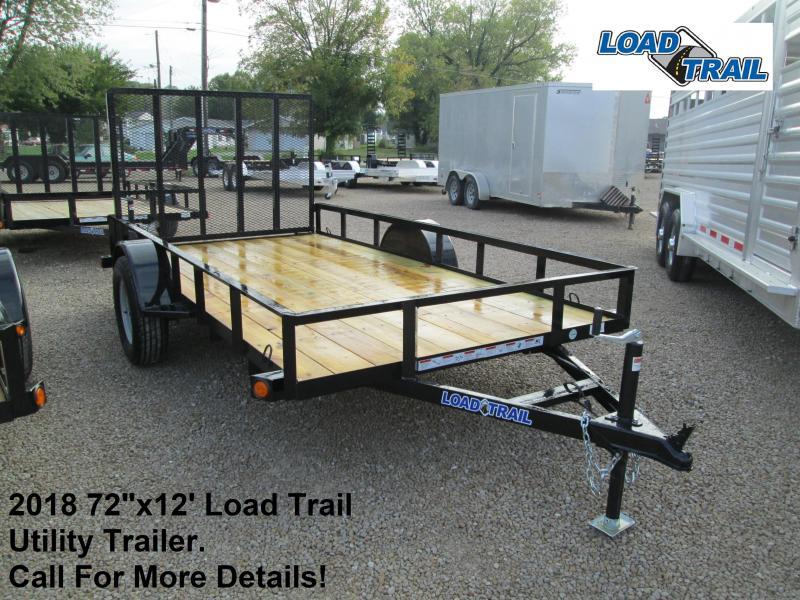 "2018 72""x12' Load Trail Utility Trailer. 49468"