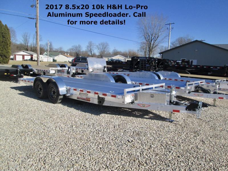 2017 8.5x20 10k H&H Lo-Pro Aluminum Speedloader. 68808