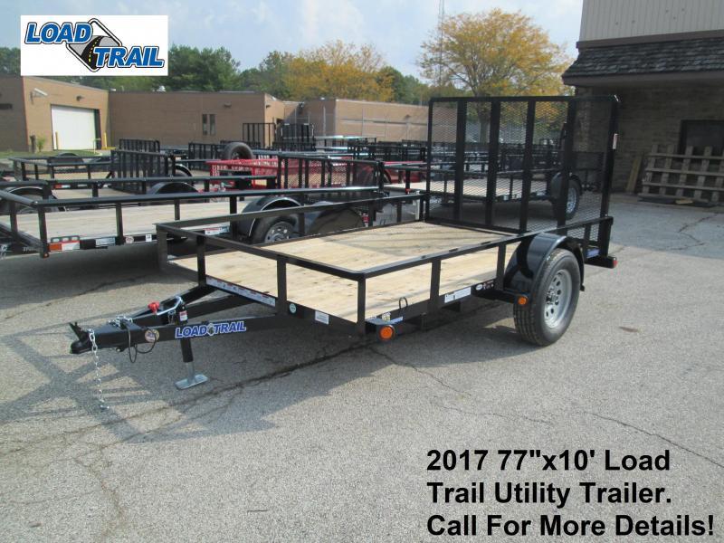 "2017 77""x10' Load Trail Utility Trailer. 46557"
