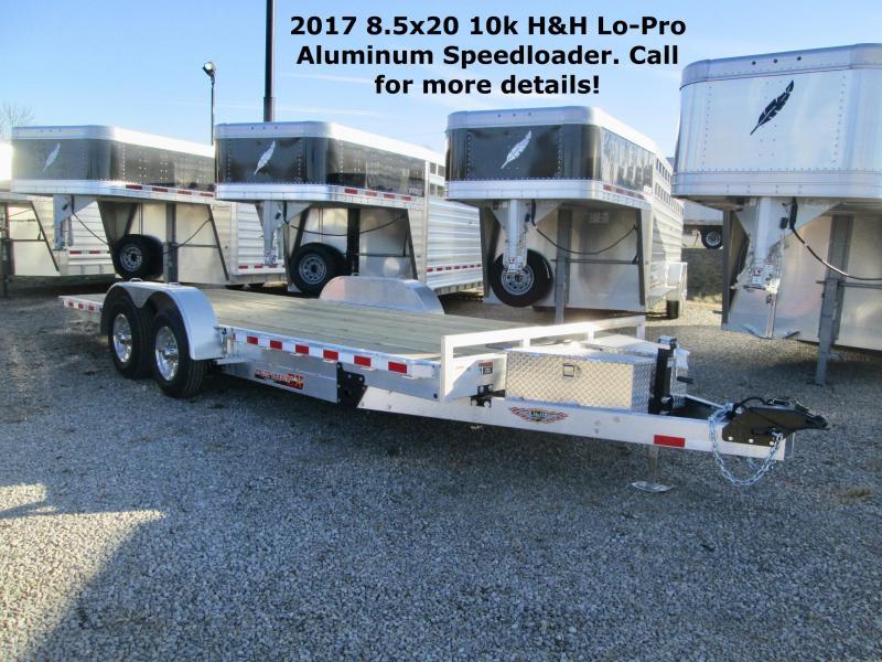 2017 8.5x20 10k H&H Lo-Pro Aluminum Speedloader. 68807