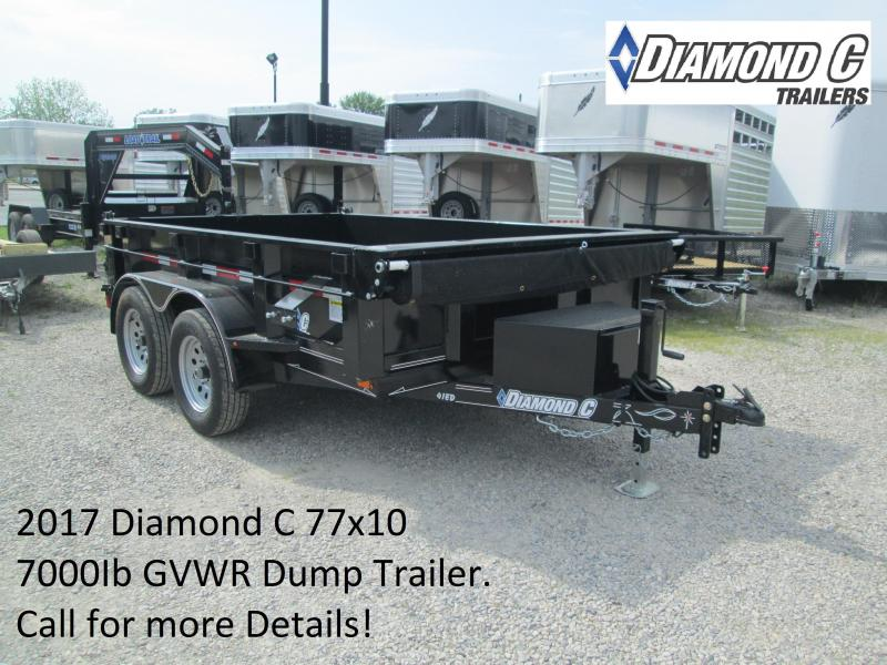 2017 77x10 7k Diamond C Dump Trailer. 88796