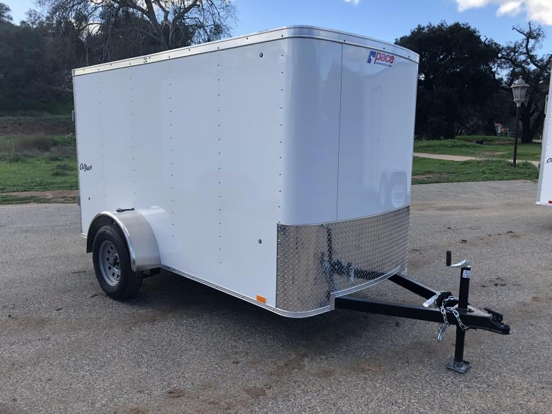 2019 Pace American Outback 5' x 10' Cargo / Enclosed Trailer