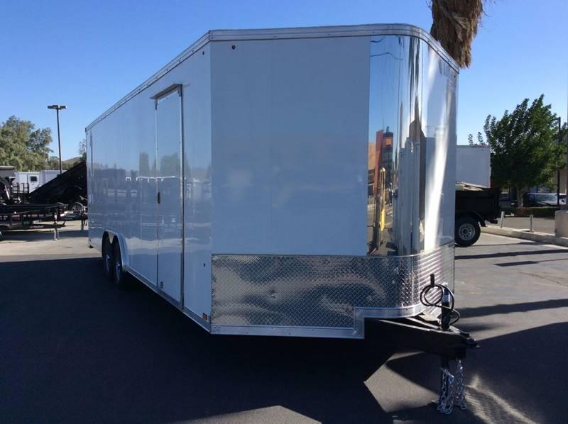 2018 Look Vision 8.5' x 24' Enclosed Car Trailer