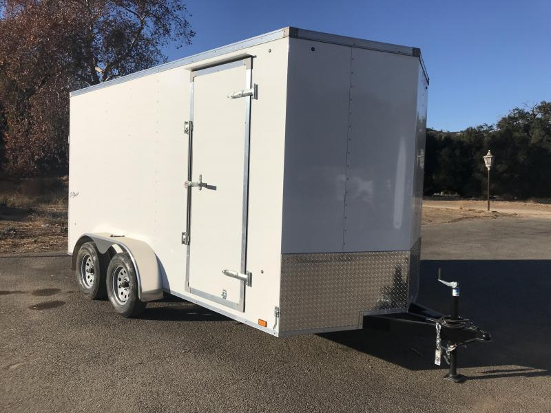 2018 Pace American Vnose Outback 7' x 14' Enclosed Cargo Trailer