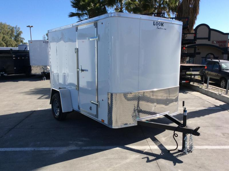 2018 Look Trailers STLC 6 x 10' Enclosed Cargo Trailer