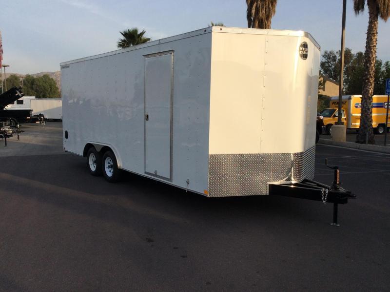 2018 Wells Cargo FT 8.5' x 20' Enclosed Car Trailer