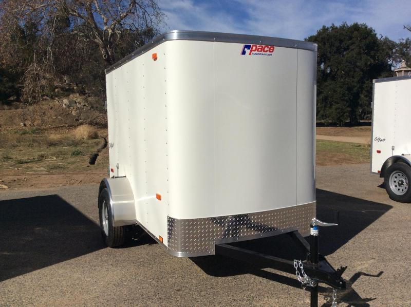 2018 Pace American Outback 5' x 8' Enclosed Cargo Trailer