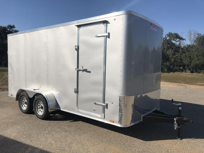 2017 Pace American Outback 7' x 16' Cargo / Enclosed Trailer
