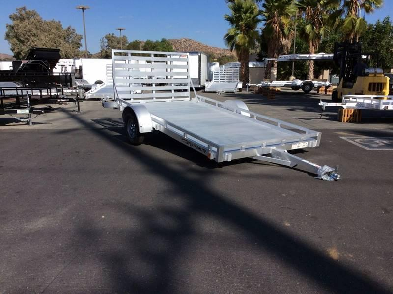 2018 Featherlite 6.5' x 12' 1693 Utility Trailer