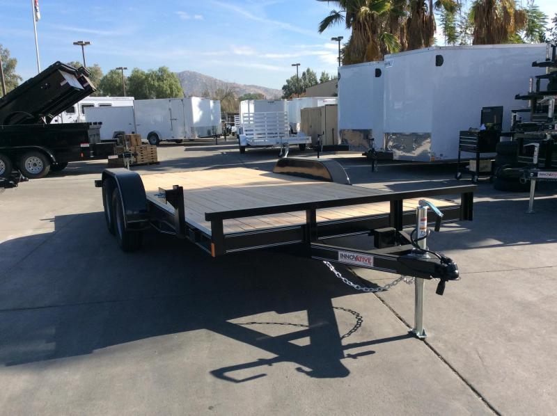 """2018 Innovative Trailer Mfg. EW-CH 83"""" x 16' Flatbed Trailer"""