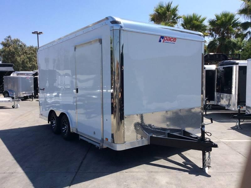 2018 Pace American Shadow GT 8.5' x 16' Enclosed Car / Racing Trailer