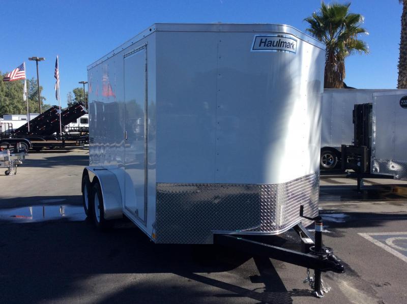2018 Haulmark PPT 7' x 12' Enclosed Cargo Trailer