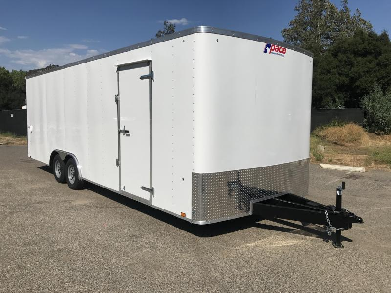 2018 Pace American Outback 8.5' x 24' Auto Car Trailer