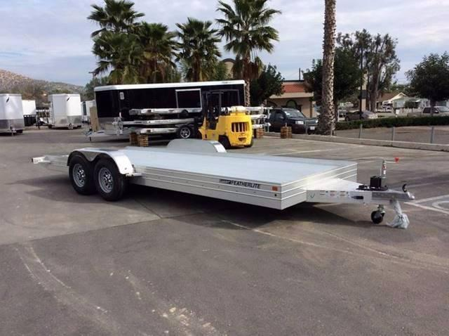 2017 Featherlite 3110 8.5' x 20' Auto Hauler Flatbed Car Trailer