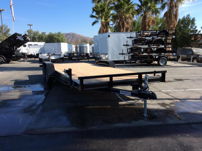 "2018 Innovative Trailer Mfg. EWCH 83""x 20' Flatbed Trailer"