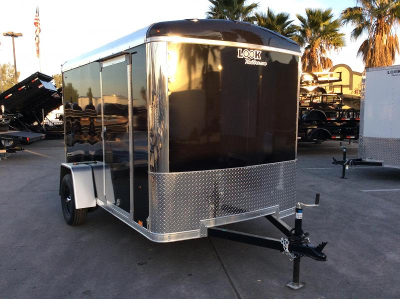 2018 Look Trailers VRLC 6' x 10' SI2 Enclosed Cargo Trailer
