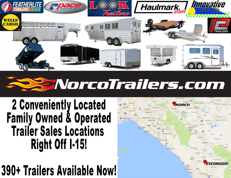 2018 Look Trailers STLA 8.5' x 20' TE3 Car / Racing Trailer