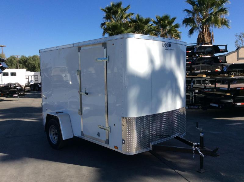 2018 Look Trailers STLC 6' x 10' SI2 Enclosed Cargo Trailer