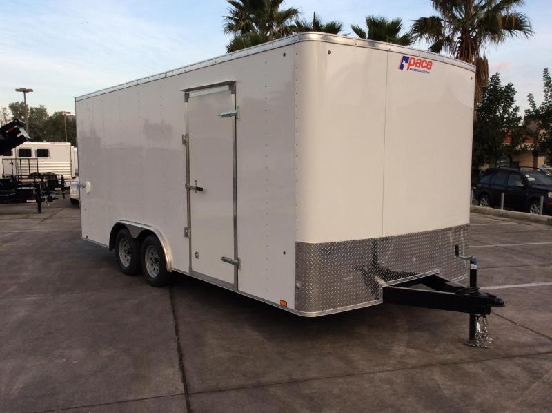 2018 Pace American OB 8.5' x 18' TE2 Car / Racing Trailer