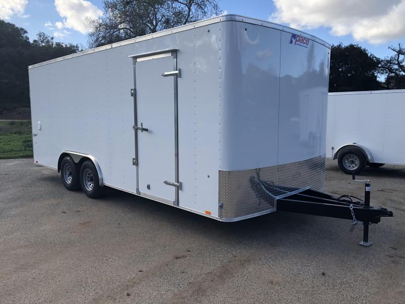 2019 Pace American Outback 8.5' x 20' 10K Auto Car / Racing Trailer