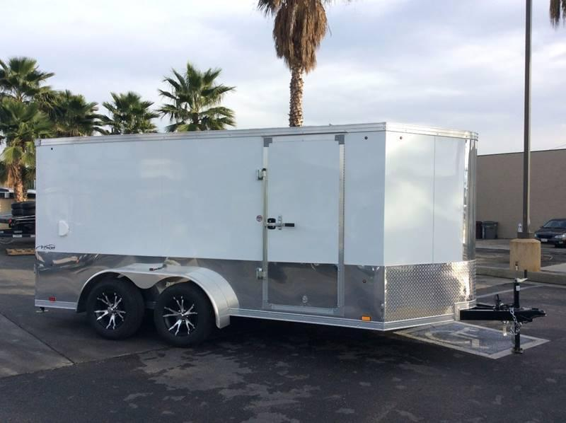 2018 Look Trailers Vision Legacy 7' x 14' Motorcycle Trailer
