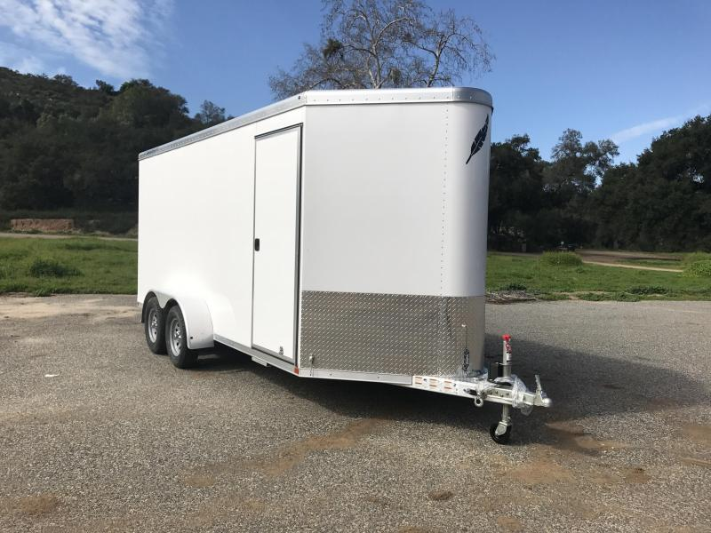 "2017 Featherlite 1610 6'7"" x 16' Enclosed Cargo Trailer"