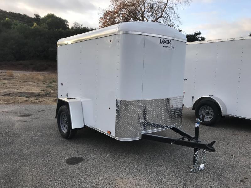 2018 Look Trailers STRLC Round Top 5' x 8' Enclosed Cargo Trailer