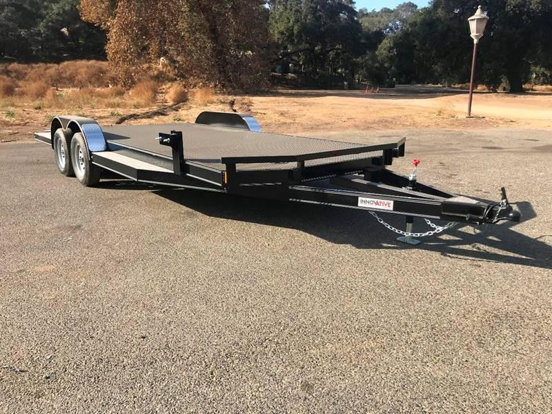 "2018 Innovative Steel Deck Auto Hauler 83"" x 20' Flatbed Car Trailer"