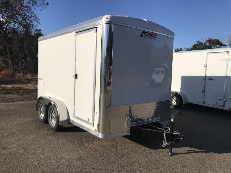 2018 Pace American Cargo Sport 7' x 12' Enclosed Cargo Trailer