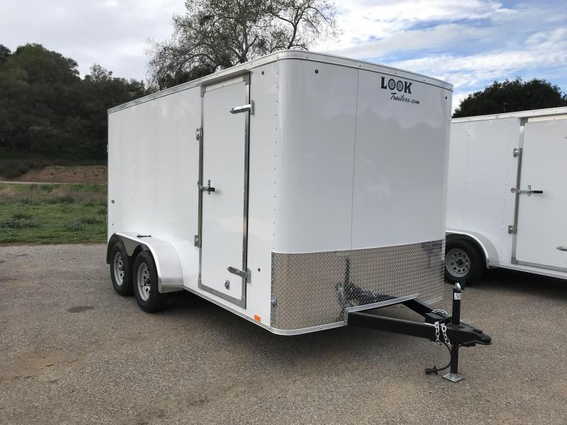 2018 Look Trailers STLC 7' x 14' Cargo / Enclosed Trailer